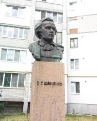 Пам'ятник Т.Г.Шевченку в м. Фастів