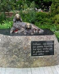 Пам'ятник собачої вірності на Оболоні