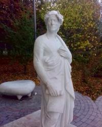 Пам'ятник італійському поетові Данте Аліг'єрі в Києві