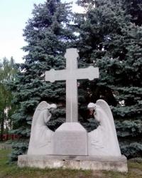 Пам'ятник жертвам Голодомору с. Колонщина