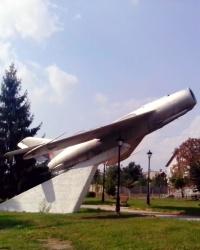 Літак МиГ-17, смт Макарів