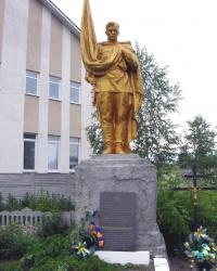 Братська могила воїнів Радянської Армії, с. Княжичі