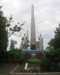 Пам'ятник радянським воїнам Другої світової війни, с. Семенівка