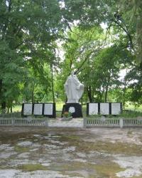 Пам'ятник радянським воїнам Другої світової війни, с. Синиця
