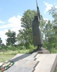 Пам'ятник радянським воїнам Другої світової війни, с. Лука