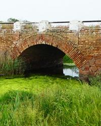Мост Штейнбаха 19 века на реке Юшанлы в с. Калиновка