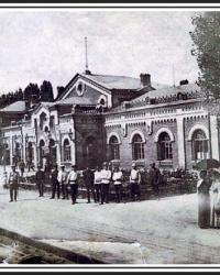 Станция Лубны (пассажирский вокзал) ЮЖД