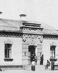 Місце першої водонапорної башти у м.Полтава