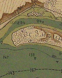 Остров Змеиный (Перун) на реке Днепр