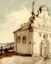 Ильинская церковь в селе Суботов
