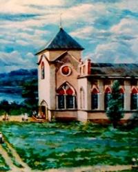 Храм Успения Пресвятой Девы Марии в с.Днепровое (Ямбург)
