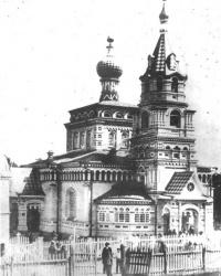 Свято-Горгиевский храм в с. Нижние Млыны
