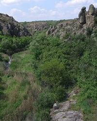 Актовский каньон (Долина дьявола) в с. Актово