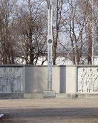 Братская могила. Мемориал Славы в Синельниково