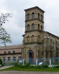 Здание костела в с.Мошны