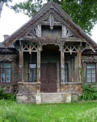 Деревянный лечебный дом в Мошнах