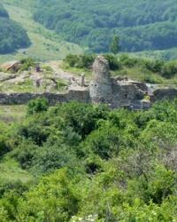 Средневековая крепость Фуна (Φουνα)