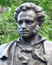Пушкин и его беседка в Ялте