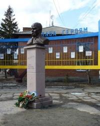 Бюст Шевченко в Кобеляках