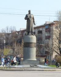Памятник  Зыгину А. И в Полтаве