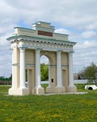 Триумфальная арка - исторический символ Диканьки