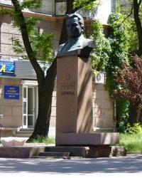 Памятник Лягину В.А в Николаеве