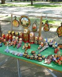 Аллея подарков, сувениров и картин в Днепропетровске
