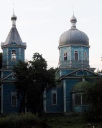 Церковь святой Параскевы (уничтожена огнем в 2014 году) в с. Антиповка