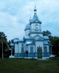 Николаевская церковь с.Скориковка (Деревянное зодчество)