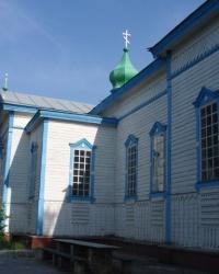 Деревянная Ильинская церковь в Прохоровке