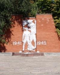 Мемориал с братской могилой в Магдалиновке