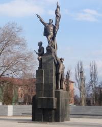 «Памятник коммунарам» на ул.Каруны в Днепропетровске