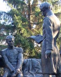 Парк им. Декабристов в Каменке