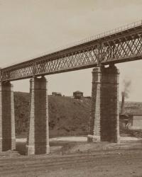 Ингулецкий мост (мост Белелюбского 1883г.) в г.Кривой Рог