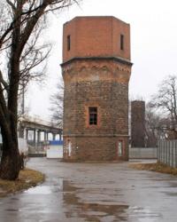 Водонапорная башня - городской статус г.Долинская