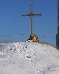 Поклонный крест в честь воинов Христовых с.Вольное