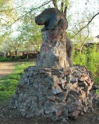 Два медведя в парке им. Кирова, г. Днепропетровск