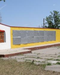 Братская могила в с.Волосское