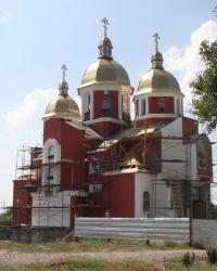 Свято-Андреевский храм в г.Днепродзержинск