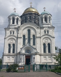 Трех-Анастасиевский кафедральный собор (1884 г.) в г. Глухов