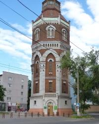 Старая водонапорная башня в г.Мариуполь