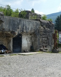 Бункер «Линии Арпад» в с. Верхняя Грабовница. Мукачевское направление