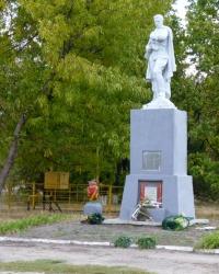 Братская могила. Памятник воинам, погибшим при освобождении Великоалександровки