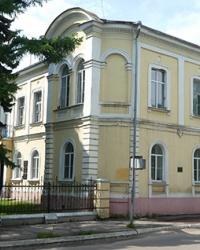 Дом купца Терещенко (Институт лубяных культур) в г. Глухов