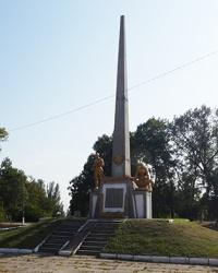 Памятник воинам-землякам (1941-1945 гг.) в г. Каменка-Днепровская