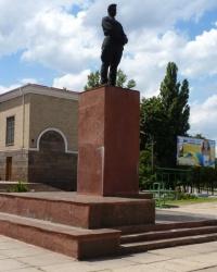 Памятник Фрунзе М.В (демонтирован) в г.Кривой Рог
