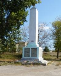 Памятник воинам-односельчанам в с.Аджамка (Кировоградский р-н)