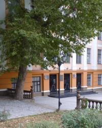 Памятник-бюст Пушкину возле МГПУ Б.Хмельницкого г.Мелитополь