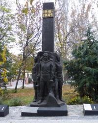 Памятник советским воинам в г.Мелитополь