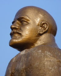 Памятник В.И.Ленину в пгт.Казанка